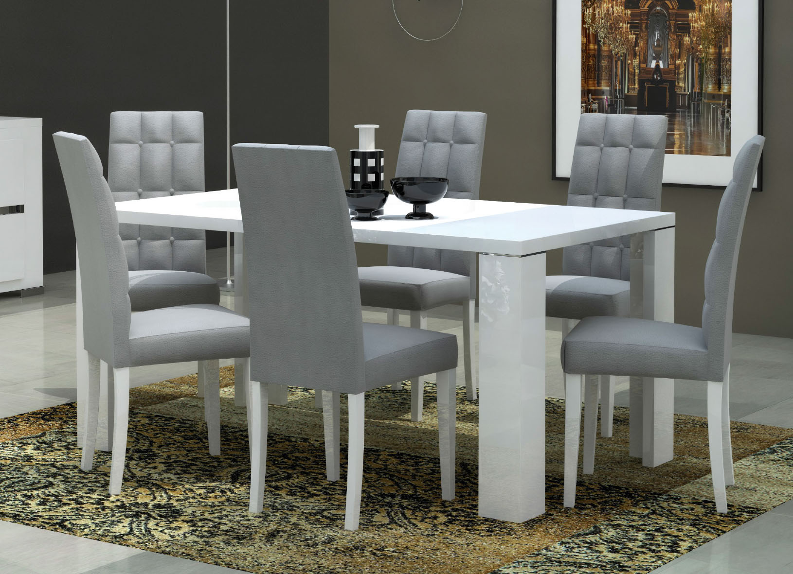 elegance dining room modern formal dining sets dining