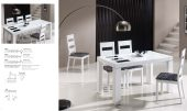 Collections Mejor Imposible Dinning, Spain Irene Table, Eva Chairs