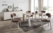 Collections Marcello Ibanez  Modern Dining, Spain Reyna Table & Coma Chairs