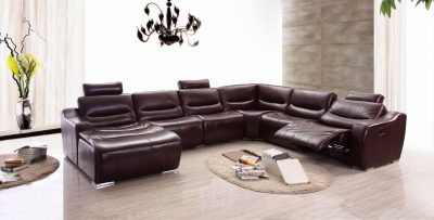Living Room Furniture Reclining and Sliding Seats Sets 2144 Sectional 1 Recliner