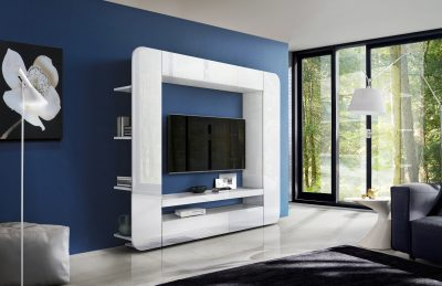 Prisma Wall Unit White