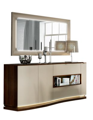 Wallunits Hallway Console tables and Mirrors Argentina Buffet w/Mirror