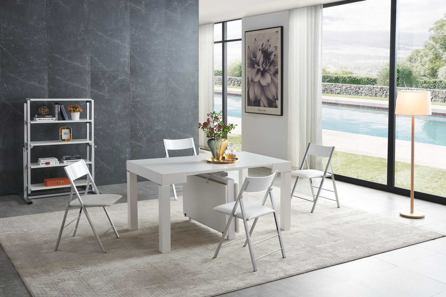 Dining Room Furniture Kitchen Tables and Chairs Sets 2241 Table Transformer with 3332 Chairs