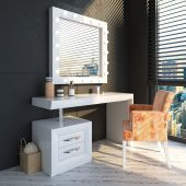 Brands Franco Furniture New BELLA Vanity Chest NB07 Vanity Dresser