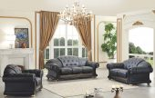 Living Room Furniture Sofas Loveseats and Chairs with Sleepers Apolo Black