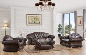 Living Room Furniture Sofas Loveseats and Chairs with Sleepers Apolo Brown